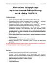 Plan nadzoru pedagogicznego dyrektora przedszkola niepublicznego, w którym powołano radę pedagogiczną - strona 1 z 3